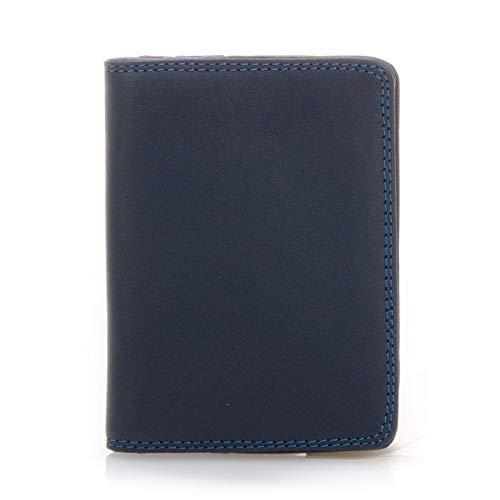 Mywalit Kingfisher - Soporte para tarjetas de crédito (piel), color negro