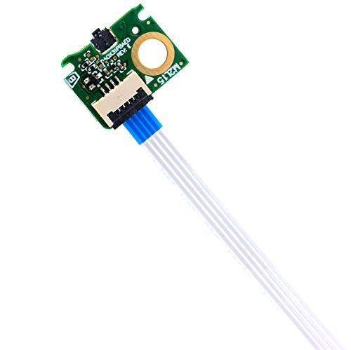 ON Off Power Button Board w/Cable Replacement for HP Spectre x360 13-W 13-W023DX 13-AC 13-AC000 13T-AC000  907337-001 - Deal4GO DA0X31PBAE0