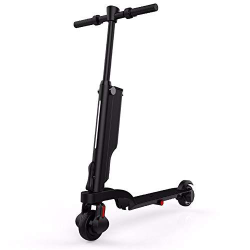 XCBY Elektrische step voor volwassenen, met e-scooter, USB-oplader voor mobiele telefoon, max. 25 km, opvouwbare step voor de dagelijkse ritten.