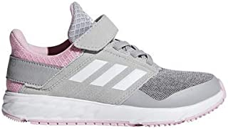 adidas Kid's FortaFaito EL Athletic Shoes, True Pink/Footwear White/Grey, 3 M US Little Kid