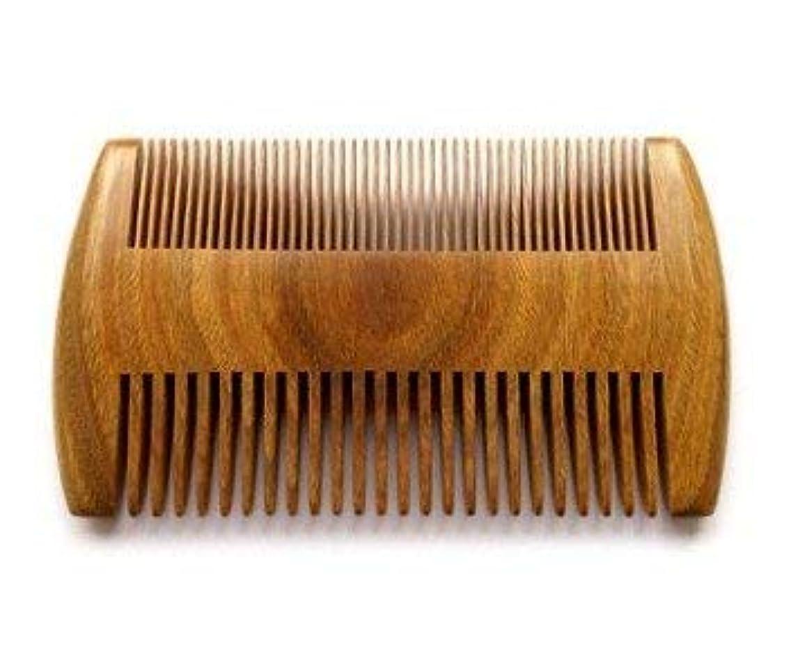 残基入場料いろいろMyhsmooth GS-SM-NF Handmade Natural Green Sandalwood No Static Comb Pocket Comb Perfect Beard Comb with Aromatic Scent for Long and Short Beards Perfect Mustache Comb(4