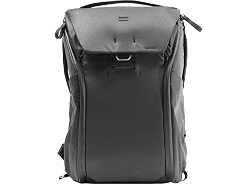 Peak Design Everyday Backpack V2 30L Black, Camera Bag, Laptop Backpack with Tablet Sleeves (BEDB-30-BK-2)