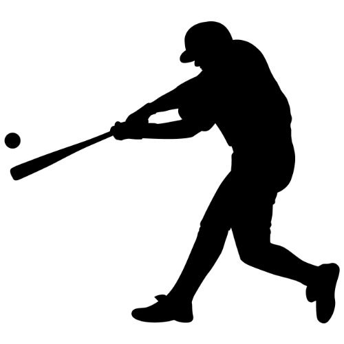 "Baseball Wall Decals Sticker - 12 in. (12""W x 10.8""H) - Decal Sticker Mural for Kid Boy Girl Room Bedroom. Sport Vinyl Wall Art Home Decor"