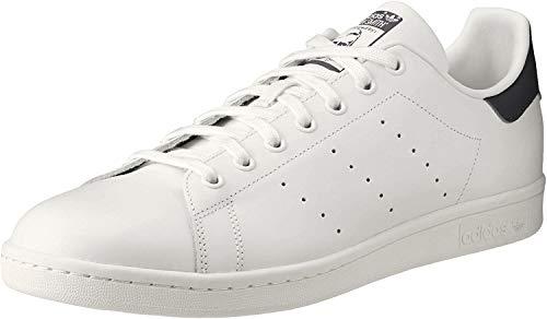 adidas Originals Stan Smith Herren-Sneaker aus Leder, Weiá (Running White/New Navy), 42 EU
