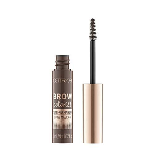 Catrice Brow Colorist Semi-Permanent Brow Mascara, Nr. 025 Brunette, braun, volumengebend, definierend, langanhaltend, natürlich, matt, vegan, Nanopartikel frei, ohne Parfüm (3,8ml)