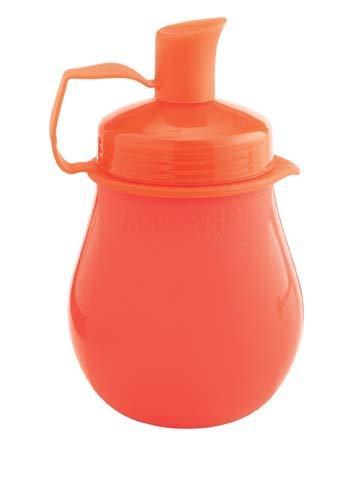 Mastrad - Frutti Pot - Mini Gourde Rechargeable Et Réutilisable - Pour Transportez Les Purées, Comptes et Yaourts - Petits et Grands - Hermétique - Sans BPA - Rouge