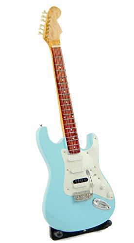Guitarra en miniatura decorativa de guitarra eléctrica Fend