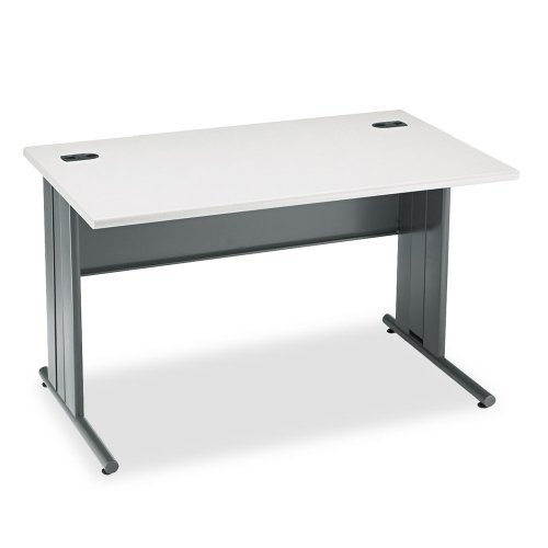 Big Sale Best Cheap Deals HON 66551G2S 48 by 29-1/2 by 29-1/2-Inch The Stationmaster Computer Desk, Gray Pattern