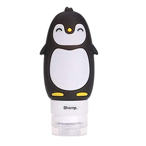 Longsing Silikon Reiseflaschen Reise Flaschen Auslaufsichere Aufbewahrungsflasche für Shampoo Cosmetics Lotion Conditioner Duschgel Solar Oil Cream