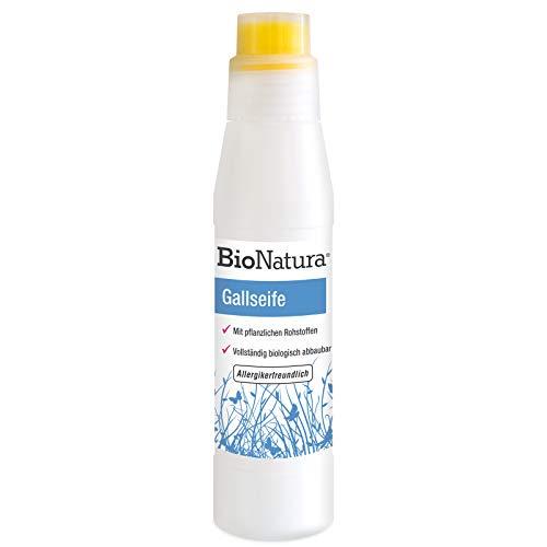 BioNatura Gallseife mit Bürste zur Fleckenentfernung, bio (1 x 250ml)