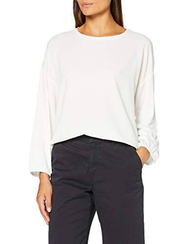 Opus Damen Sustena ST Shirt, Milk, 38