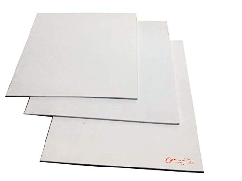 CeraTex 3170 Ceramic Fiber Paper, High Temperature Insulation Gasket or Liner for Kiln Stove Furnace Glass Fusing, Thickness 1/8