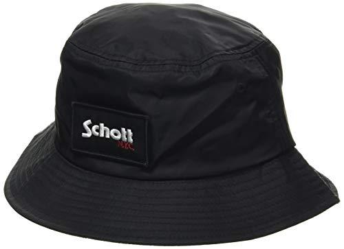 Schott NYC Hat210h Cappello a Cuffia, Nero, Taille Unique Uomo