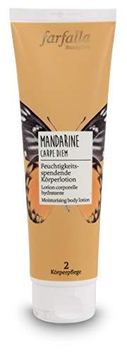 farfalla Mandarine Carpe Diem, Feuchtigkeitsspendende Körperlotion, 150 ml