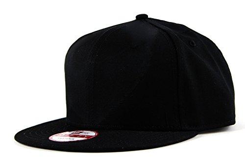 (ニューエラ) NEW ERA キャップ スナップバック 9FIFTY FLAT BILL ブラック FREE (サイズ調整可能)