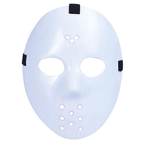 Rubie s PM120 – masker Hockey Color, eenheidsmaat
