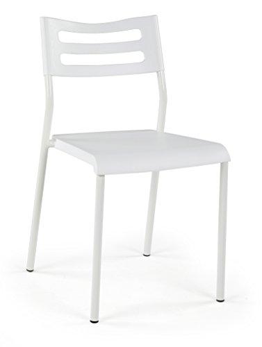 Lucky Theory, White Lightweight Desk Chair