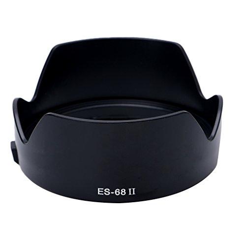 fivekim Es-68 II - Parasol para Objetivo Canon EF 50 mm F, 1,8 STM, Color Negro