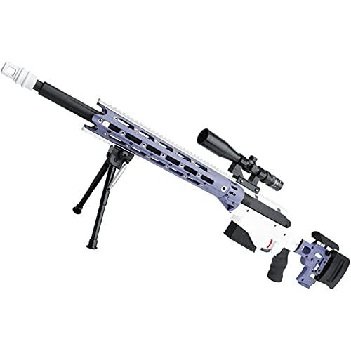 狙撃銃風おもちゃ銃 スナイパーライフル  ブローバック排莢再現 スポンジ弾 正規品