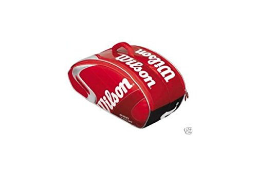 Wilson Tennistasche Pro Tour Super Six Bag, rot