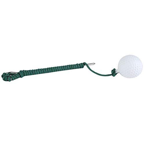 Bola de cuerda de práctica de golf, entrenamiento de swing de mosca de golf Entrenamiento de pelota de cuerda al aire libre Entrenamiento de club de golf Accesorios de bola de cuerda de práctica
