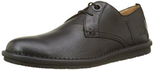 Kickers VIKANG, Zapatos de Cordones Derby Hombre, Noir (Noir Perm), 42 EU