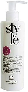 Style - Crema Anticrespo - Crema per Capelli Crespi, sia Lisci che Ricci - 250 ml