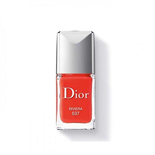 Christian Dior Dior Vernis Nail Lacquer No.537 Riviera Nail Polish, 0.33 Ounce (0.33 Ounce Lip Lacquer)