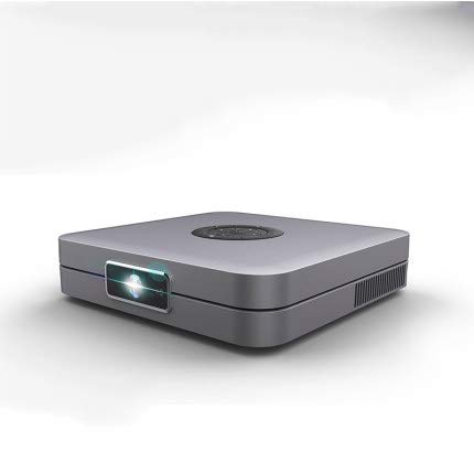 DIOI projectoren met scherm, DLP WiFi-projector Mini LED voor iPad 300 inch Home Theater