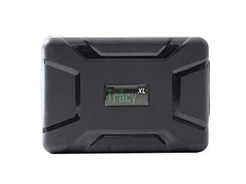 Tracy-XL Langzeit GPS Tracker 10000 mA, mit starkem Magneten, STARTPAKET komplett inkl. SIM-Karte, EU-Daten-Flat, Portal und App. Alles fertig, Alles drin !!