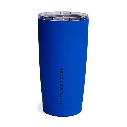 Cool Bottles Vaso Térmico de Acero Inoxidable | 550 ml | Vaso Térmico | Termo Café para Llevar | Vaso con Tapa para Bebidas frías o Calientes | Vaso térmico café | Libre de BPA