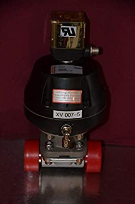 """labtechsales Gemu 687025D8040501-1508 1"""" 687 Sanitary Diaphragm Valve SS Clamp 1230 Indicator by labtechsales"""