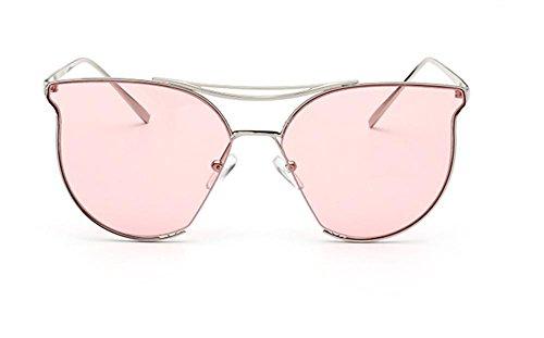 CMCL Caminante HD Gafas de Sol de Moda de Color Ronda Cara C
