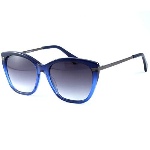 CHANCE - CONSTANCE gafas de sol clásicas para mujer - Edición Limitada (Azul degradado, Gris)