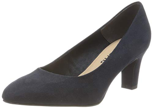 Tamaris Damen 1-1-22418-24 Pumps, Blau (Navy 805), 37 EU