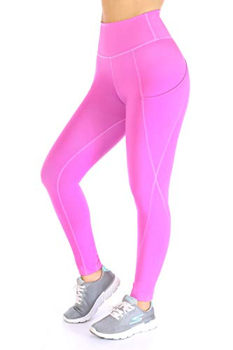 Ultra Soft High Waisted Thick Leggings - Non See Through | Stretchy Leggings for Women Lilac