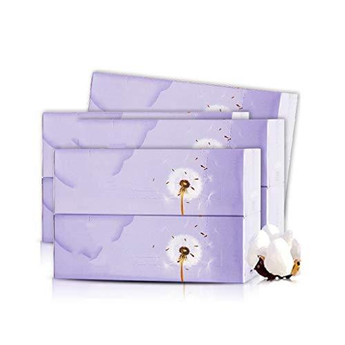 DUOER HOME Démaquillants pour Le Visage 100 pièces * 8 boîtes Coton Pur Coton rembourré sous Pression Coton Double Face pour compresses humides pour Le Nettoyage du Visage (Color : White)