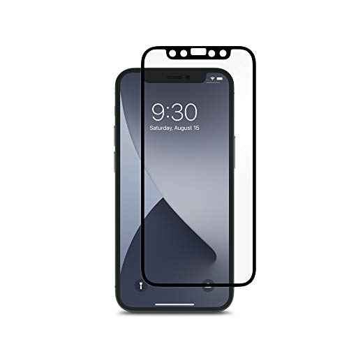 Moshi iVisor AG Apple iPhone 12/12 Pro Black Clear/Matte, schwarz, iPhone 12, 6.1-inch; iPhone 12 pro, 6.1-inch