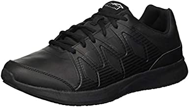 Avia Men's Avi-Skill Food Service Shoe, Black/Black, 10 Wide US