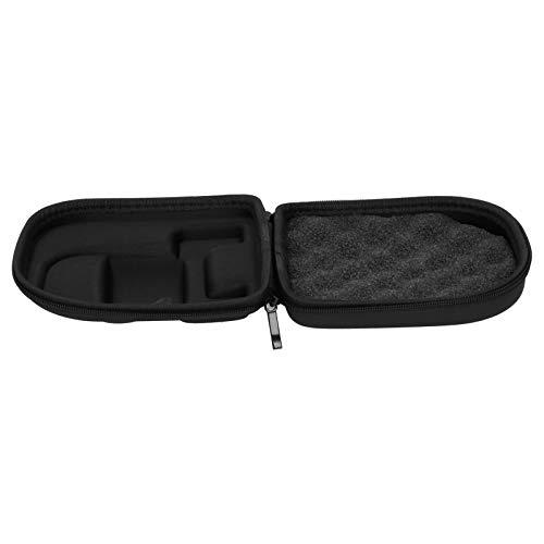 DAUERHAFT Angelrollenetui Casting Reel Bag Nicht leicht zu verformen Dual Zipper Design für kleine Gegenstände(Right Hand)