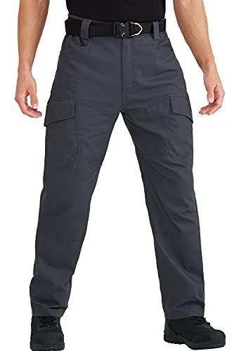 FREEKITE Men's Ripstop Cargo Pants Relaxed Fit Outdoor...