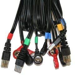 Compex - Juego de cables de Snap 8PIN para electroestimuladores Mi-Sport 500, Mi-Fitness Trainer,