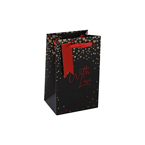 Clairefontaine 26337-9C - Un sac cadeau parfum 12,7x9x20,3 cm 210g, With love