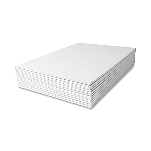 DEBRA DALE DESIGNS - Made Right in the USA - Blank Unruled Note Pads - Generous 8.5 x 11 Inches - Bright White - 13 Writing Pads - 50 Sheets per Note Pad - 20# White Bond Paper Pad - Chipboard Backer