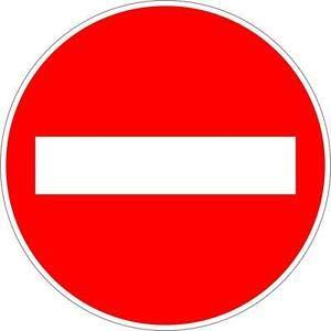 Aufkleber T¨¹r Tor Route Eisenbahn Drehrichtung Verboten Schild Retro Metal Sign 12x12 Inch