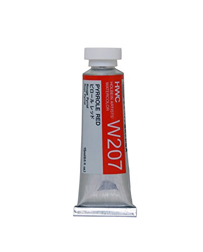 Holbein Artist's Watercolor 15ml Tube (Pyrrole Red) W207