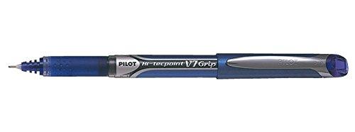 Grip V7 Pilot – Bolígrafo Liquid Ink Rollerball 0,7 mm Tip (Caja de 12) – Azul