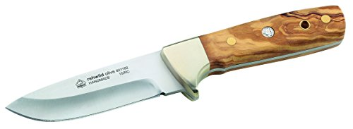 Puma IP Jagdmesser rehwild Olive, Oliveholzschalen Messer, Mehrfarbig, One Size