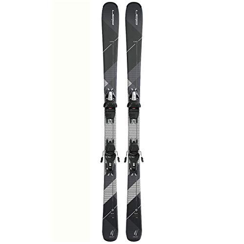 Elan Damen Ski - Snow Black 2018/2019 + Bindung ELW 9.0 GW Shift in der Länge 152cm