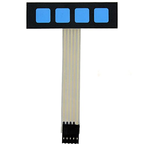 Super Slim 1 x 4 Matrix 4 Key interruptor membrana